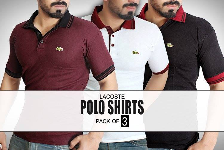 Polo T shirts Pack Of 03 High Quality For Men