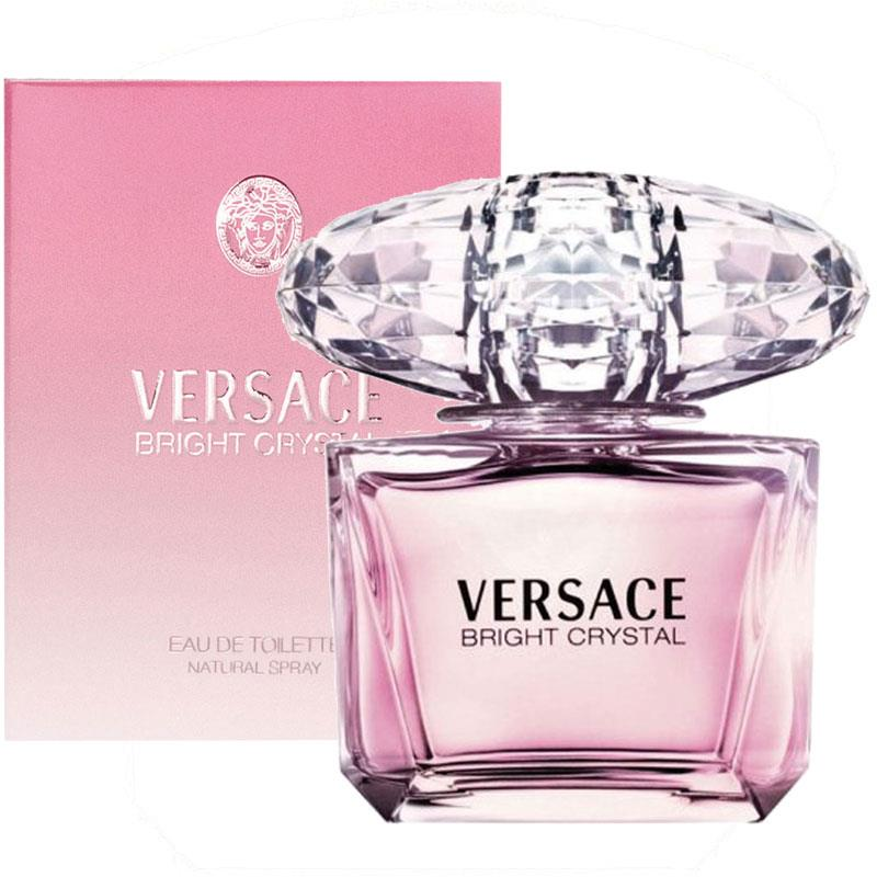 Versace Bright Crystal for Women, Eau De Toilette Spray 90 ml
