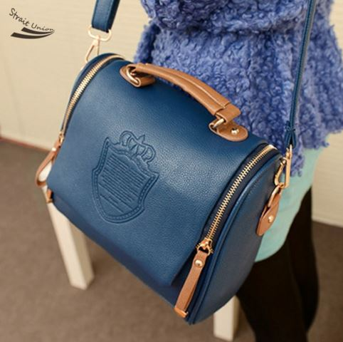 Korean Fashion Handbag PU Leather Bag