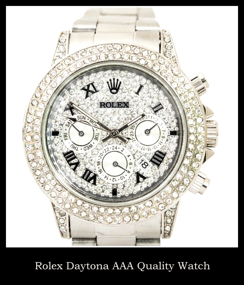 Rolex Elegant Daytona Designer Watch
