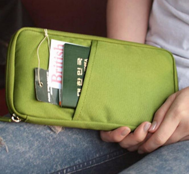 Travel Passport Credit ID Card Holder