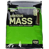 Serious Mass 12lb Zip pack with Free K Protein Cho