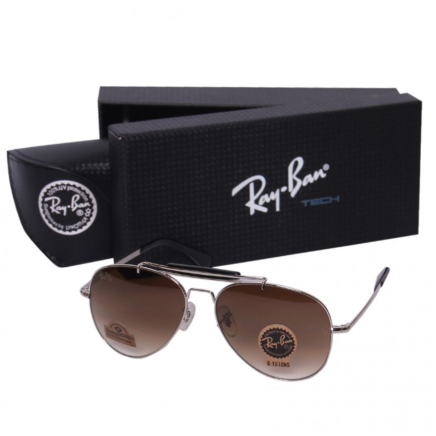 Ray Ban Sunglasses for Men - Brown