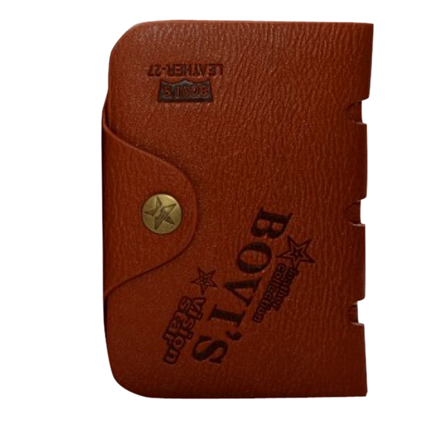 Bovi's Leather Wallet for Men