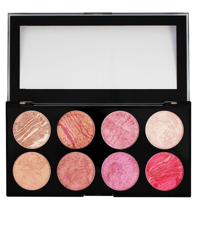 Makeup Revolution London Blush Queen Ultra Blush Palette For Women - Multicolour