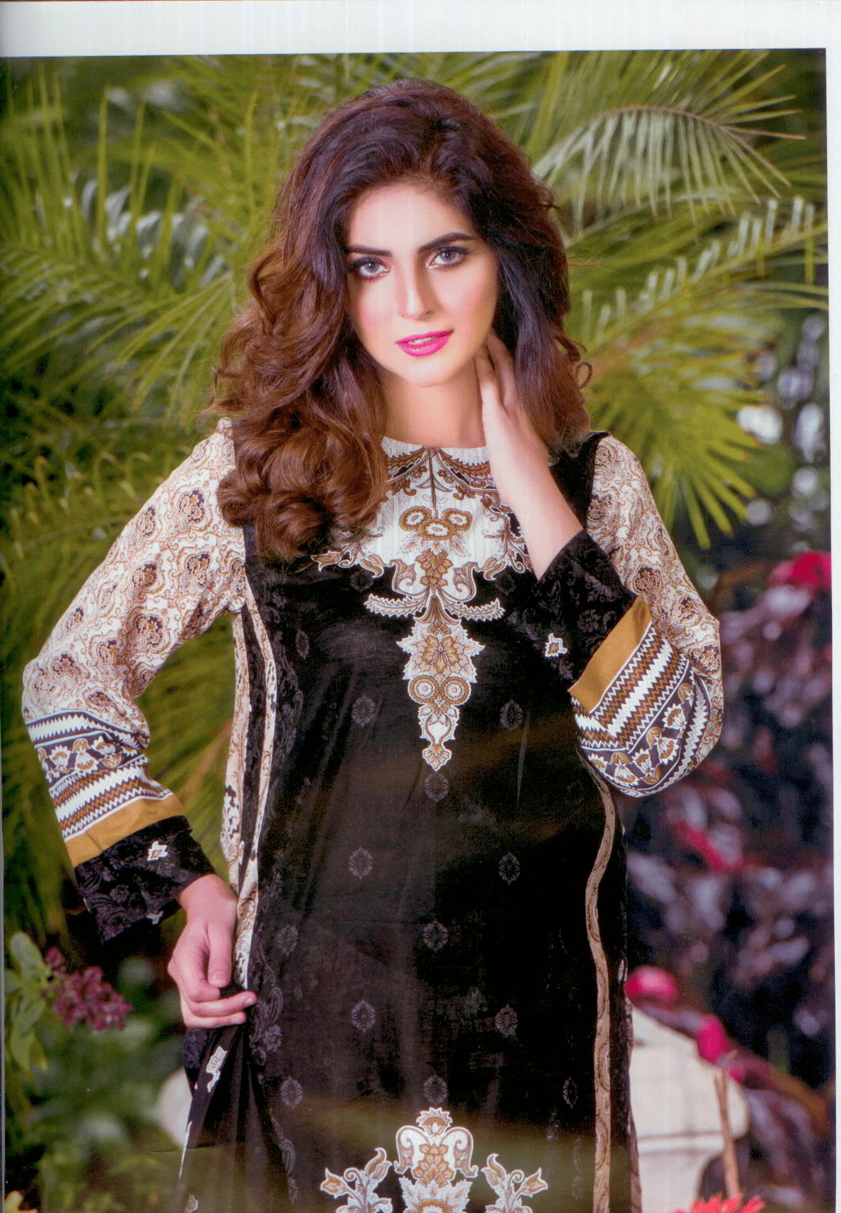Aliza summer collection 2017- High quality printed lawn