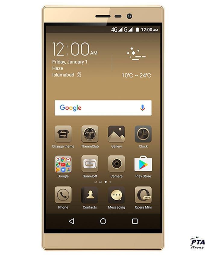 "QMobile Noir Z14 - 5.5"" - 4GB RAM - 32GB ROM - Gold"