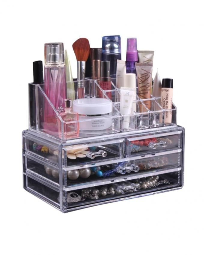 Cosmetic Organizer - Transparent