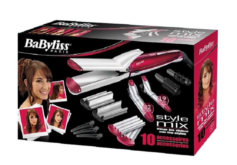 Baby Liss Stly Mix with 10 Tools