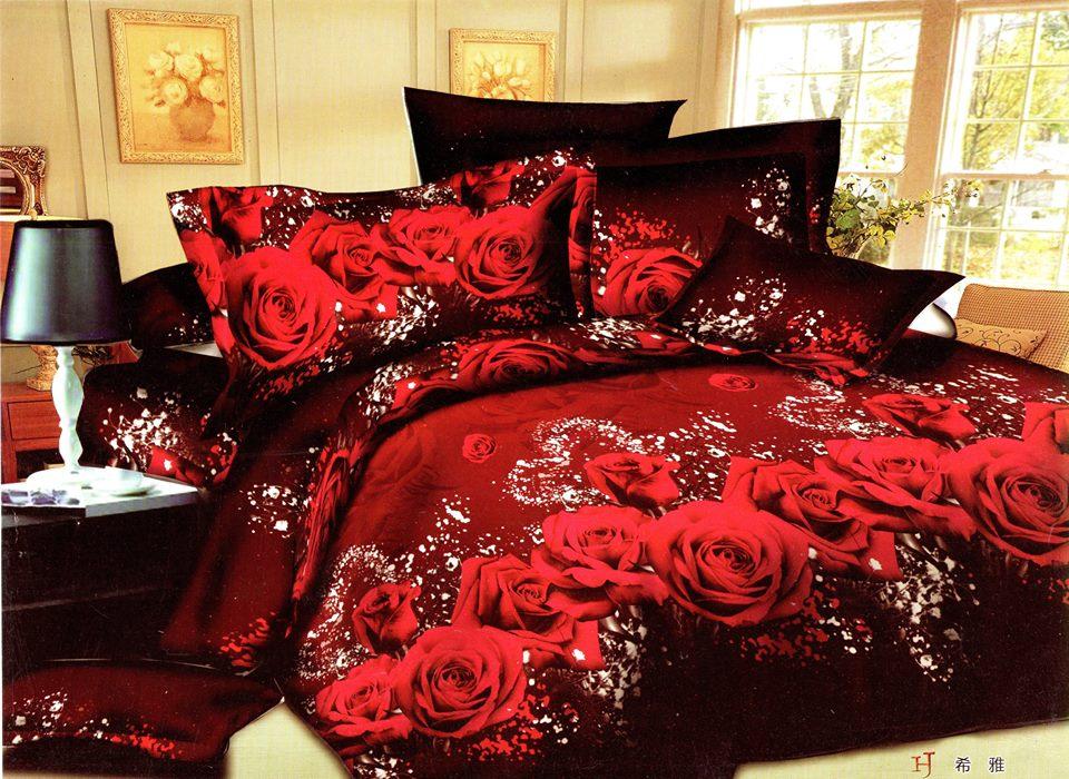 5D Floweral Bedsheet