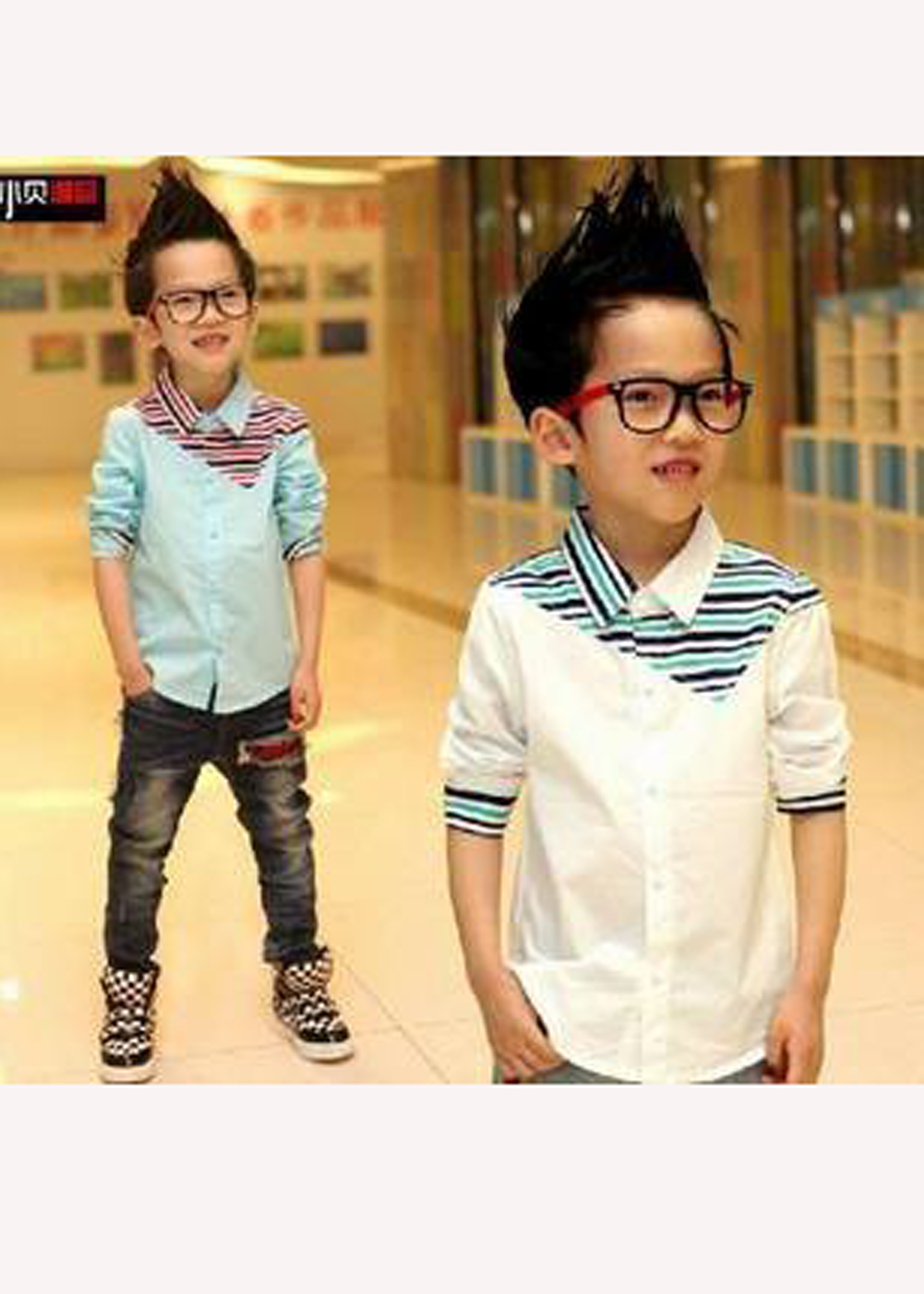 Boys Imported Casual Shirt
