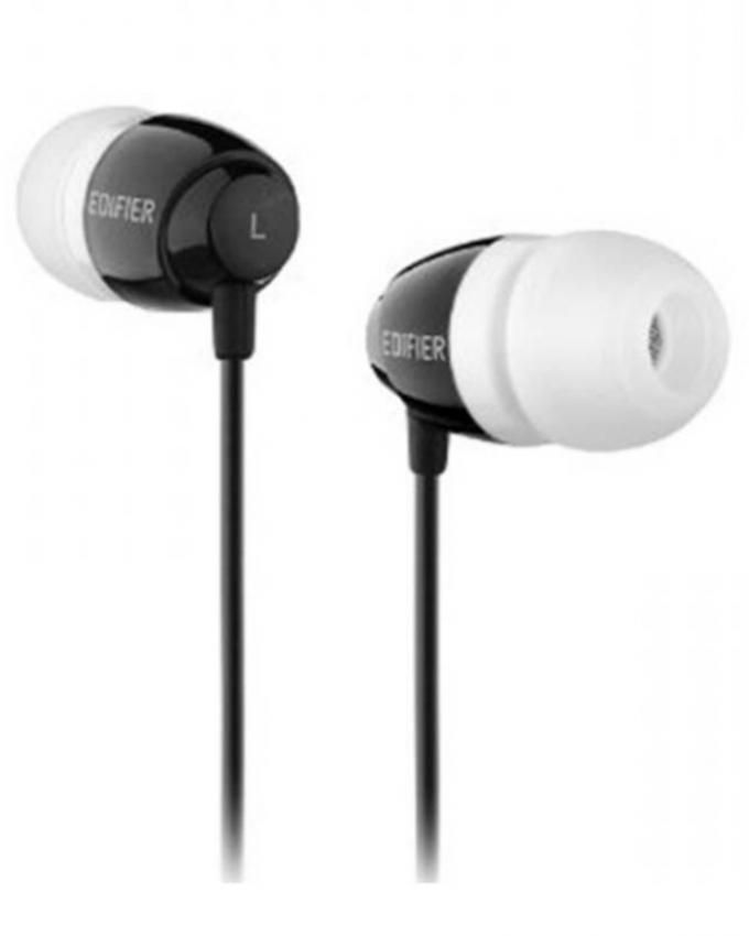 Edifier H210 -Earbud Earphone - Black