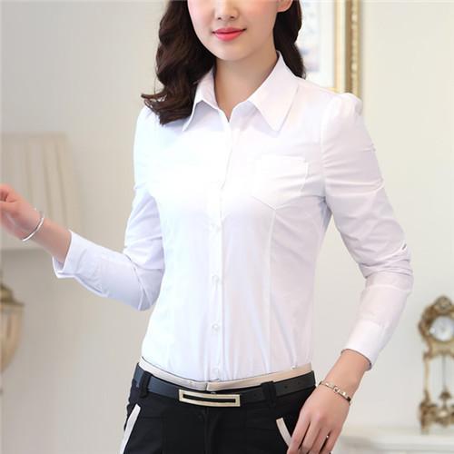 White Forman Shirt for Girls