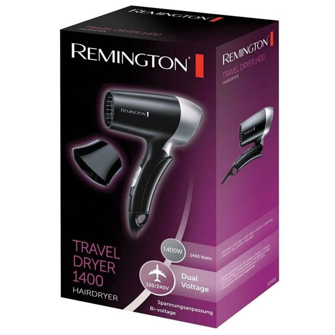 Remington D2400 - Travel Hair Dryer - 1400 Watts