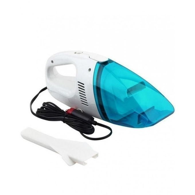 Car Vacuum Cleaner - White & Blue