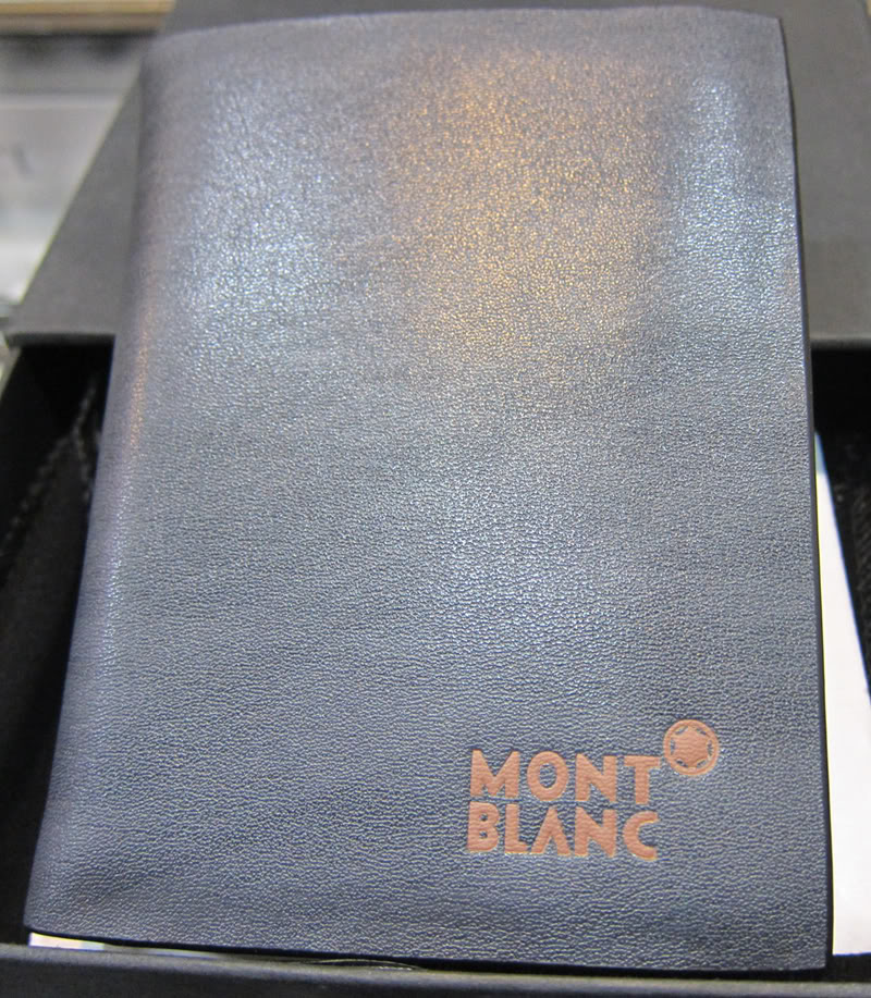Mont Blanc Leather Men Wallet SB-2026