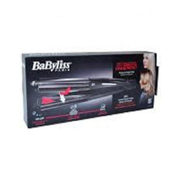 BaByliss ST330E - Intense Protect 2in1 Hair Straightener - Wet & Dry - Diamond Ceramic - Black