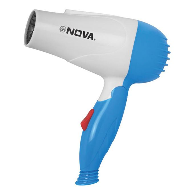 Nova 1000W - Foldable Hair Dryer - Blue