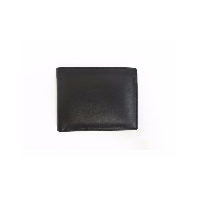 Black Super Leather Wallet For Men WB106
