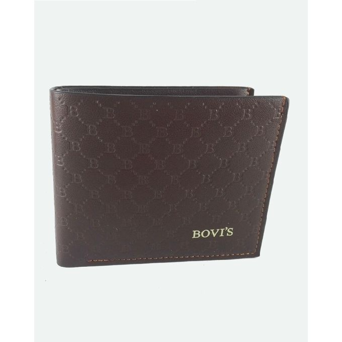 Bovis Classic Soft Leather Wallet For Men