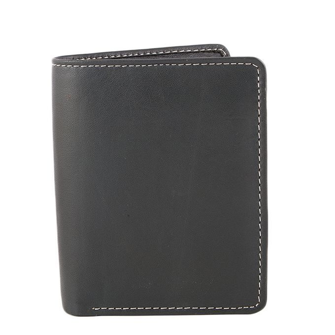 Leather Creative Black Leather Wallet for Men