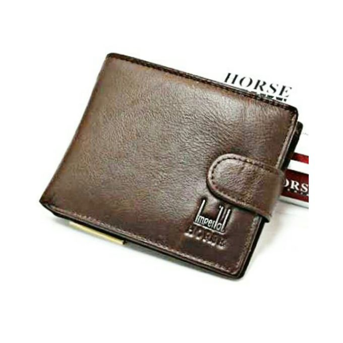 Imperial Horse Brown - Leather Wallet For Men