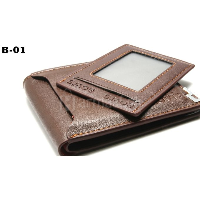 Bovis Hickory Brown Wallet for Men