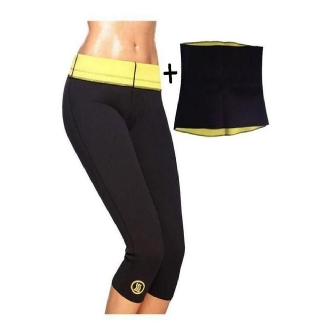 Hot Shapers Pack of 2 - Slimming Pant & Hot Belt
