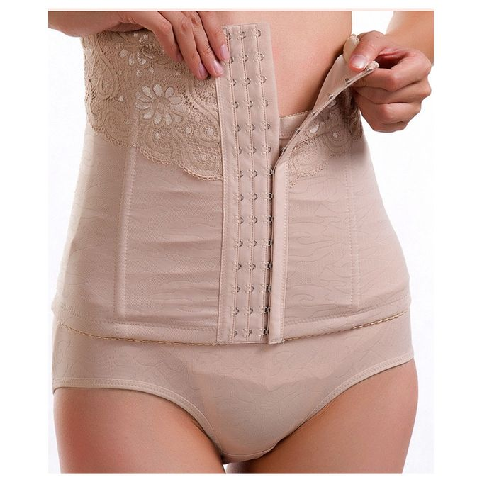 Flourish Breathable Waist Trimmer Postpartum Slim Belly Belt Corset