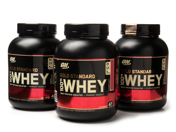 Gold Standard Whey 5lb Mix flavour
