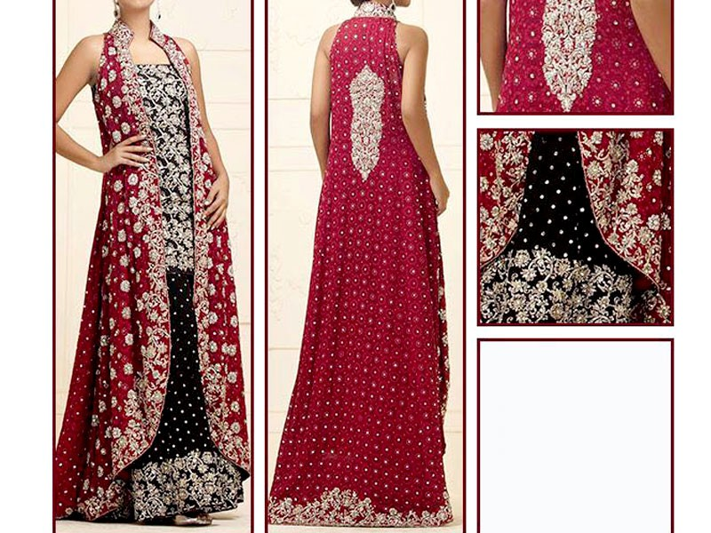 Embroidered Designer Chiffon Suit