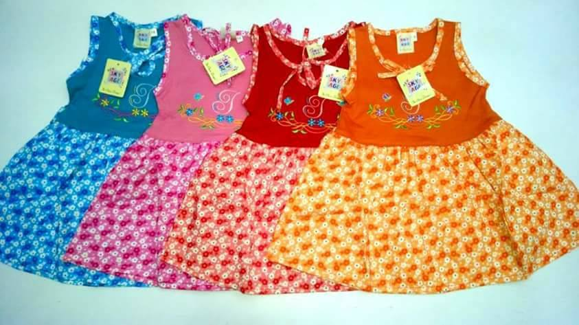 BABY FROCKS PACK OF 3
