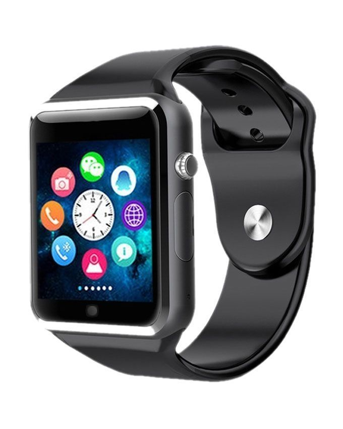 Smart-Watch-GT08-With-GSM-Slot-Bluetooth---Black-8186.html