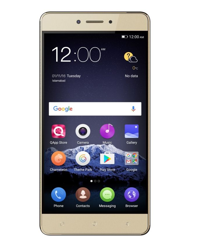 QMobile King Kong Max - 32GB - 3GB - Gold