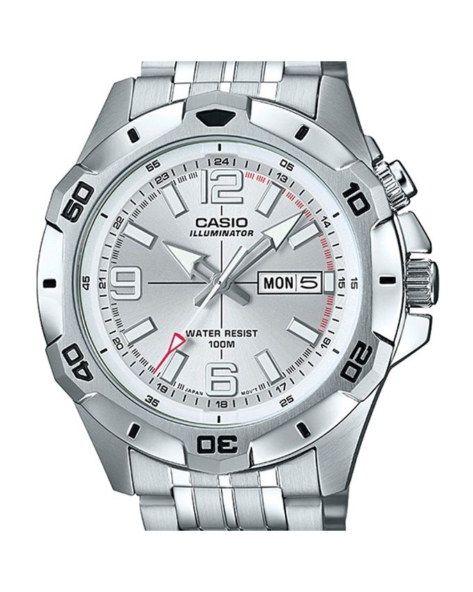 Casio MTD-1082D-7AVDF - Steel - Analog Watch For Men - Silver