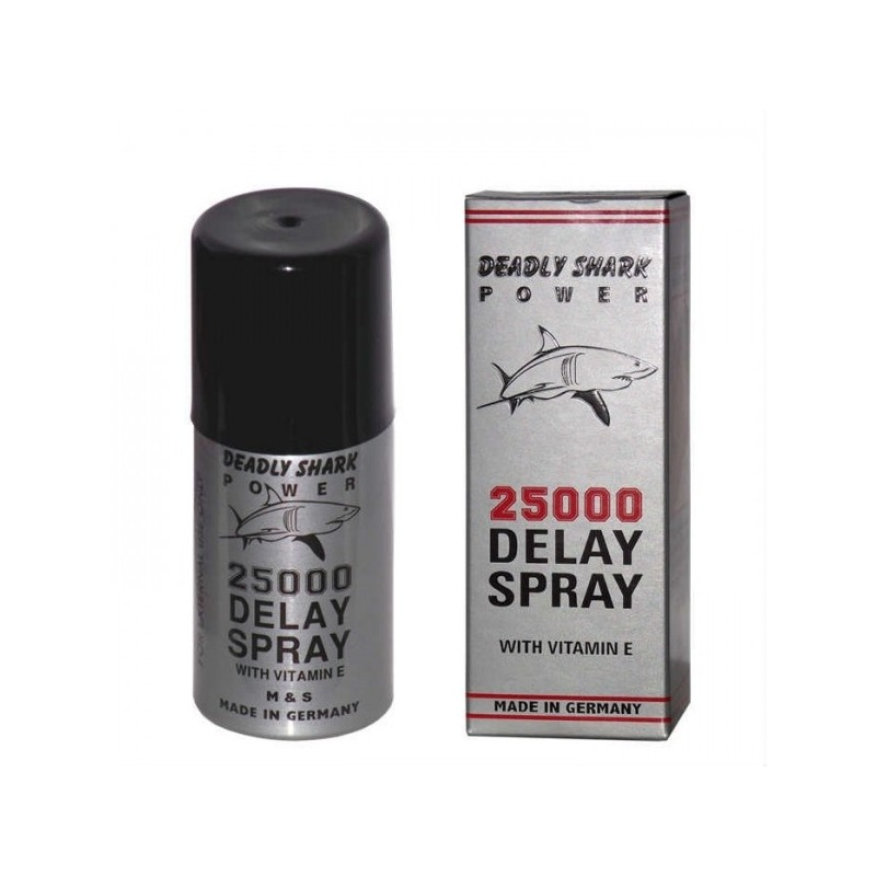 "Deadly Shark Powerâ""¢25000 Delay Spray"