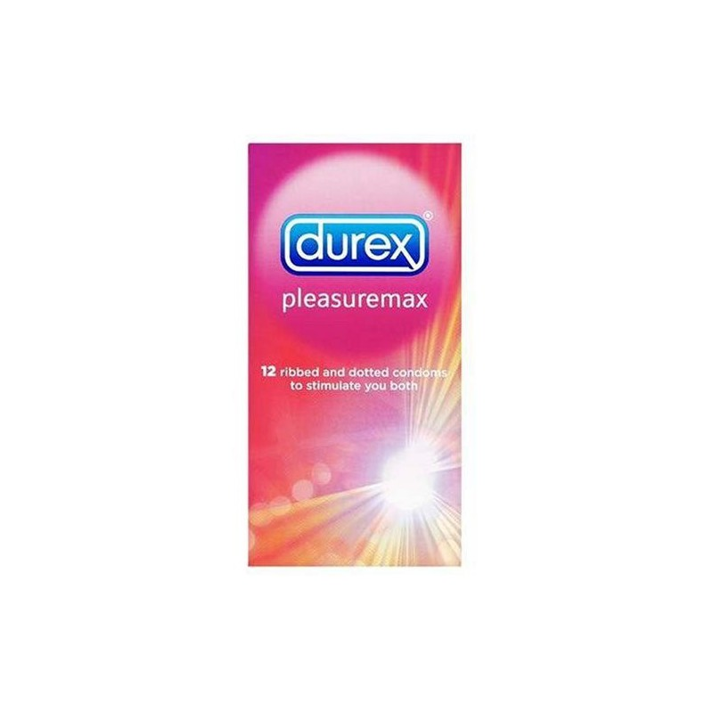 Durex Pleasuremax Condoms 12 pieces