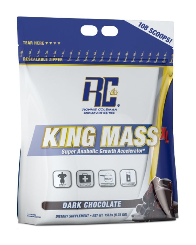 Ronnie Coleman Signature Series King MASS-XL Super Anabolic Growth Accelerator - 15lbs