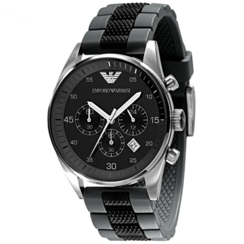 Emporio Armani Metal Strap Watch for Men