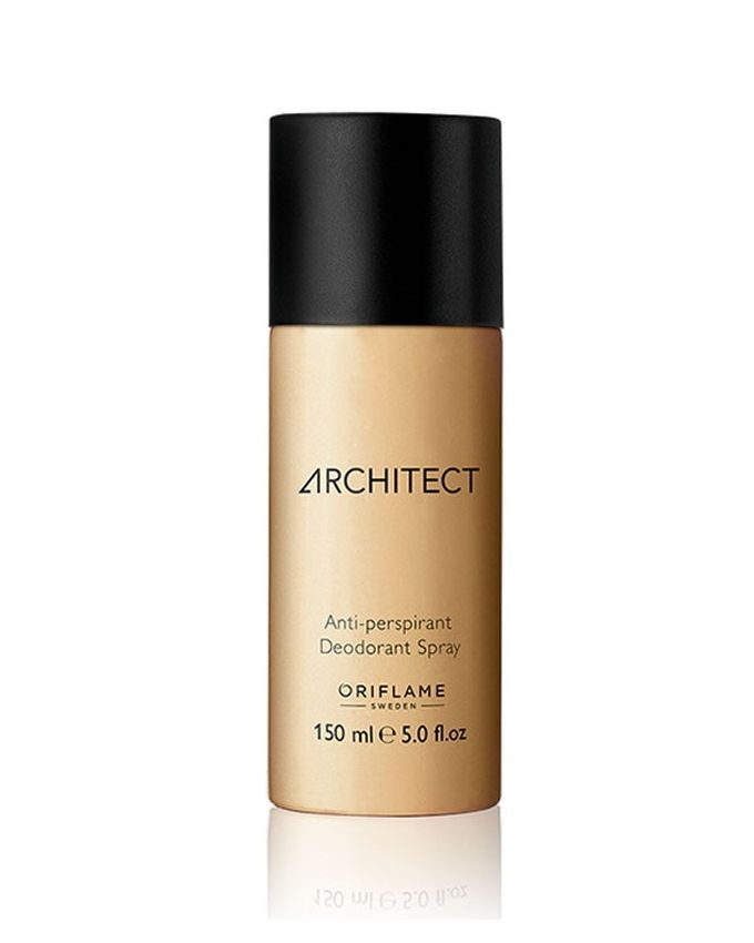 Oriflame CNB10018 - Architect Anti-perspirant Deodorant Spray for Women - 150ml