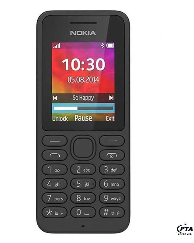 """Nokia 130 - 1.8"""" - Black - Dual Sim"""