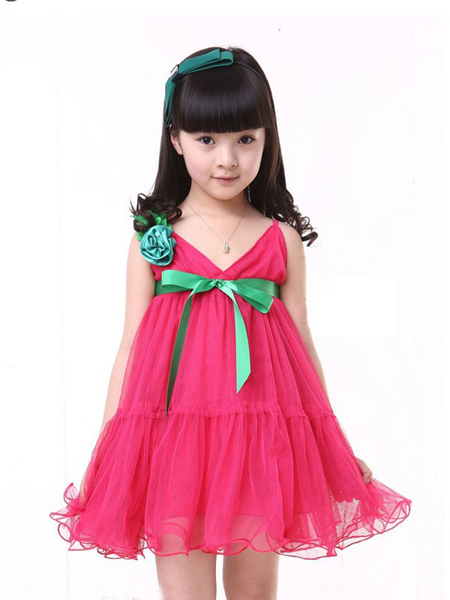 Girls Net Frock