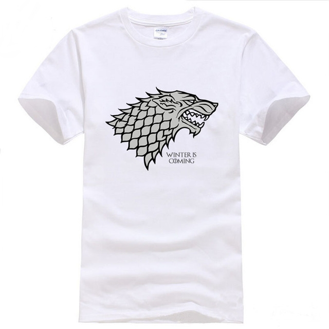 Game Of Thrones White T-Shirt