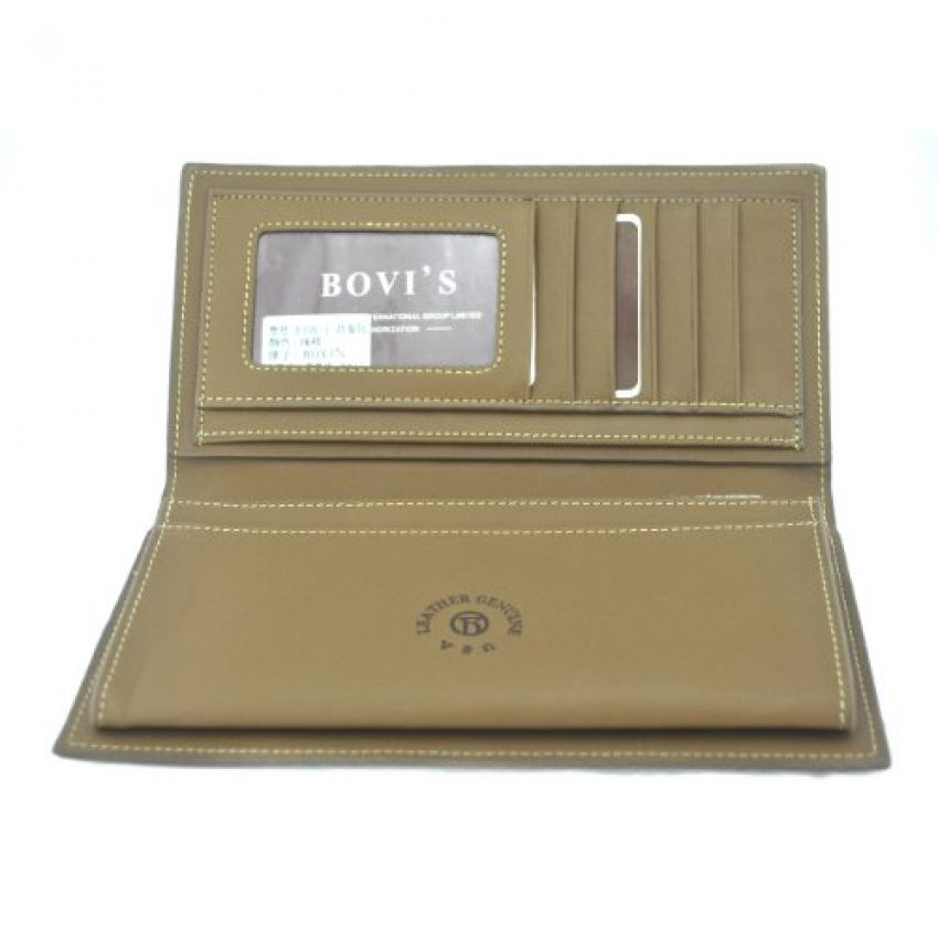 Bovi's Leather Wallet for Men