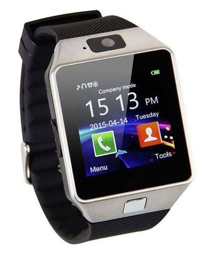 Deals DZ-09 - Smart Watch - Sim Memory Card & Camera Mobile - Black
