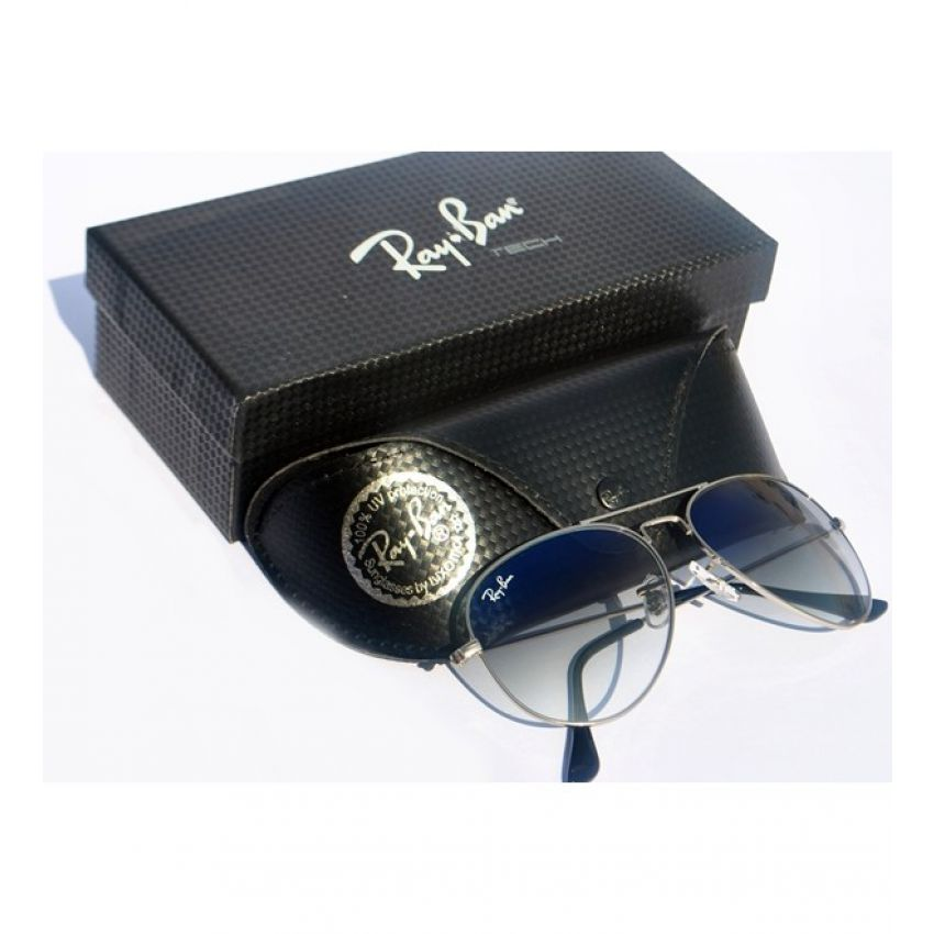 RB Aviator Large Metal RB 3025 -Silver Frame