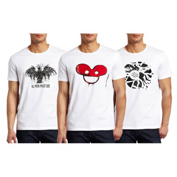 Pack Of 3 Graphics Printed White Cotton T-Shirts