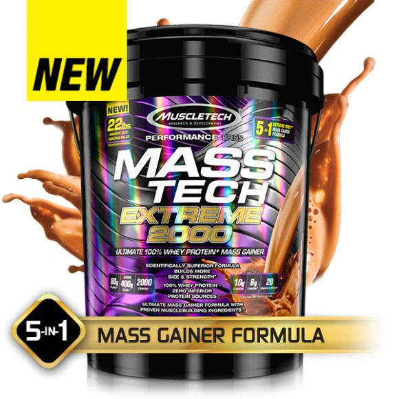 MuscleTech MASS-TECH® EXTREME 2000 - Triple Chocolate Brownie-22lbs