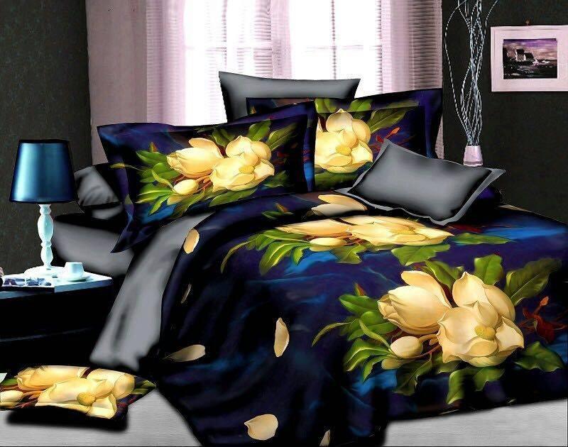 5D Flower Bedsheet