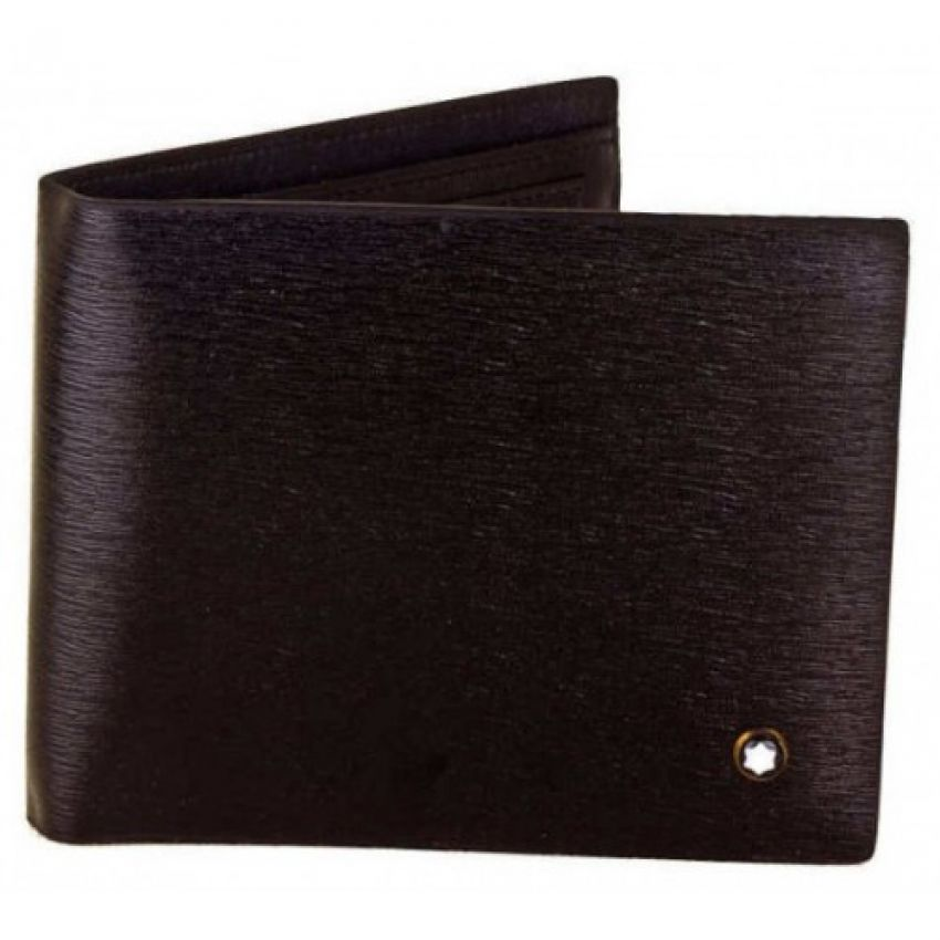 MB Hickory Brown Leather Wallet for Men